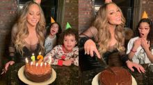 Mariah Carey Celebrates Her 50th Birthday, Insists She's 'Eternally 12'