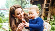 Duke and Duchess of Cambridge release previously unseen Prince Louis photo