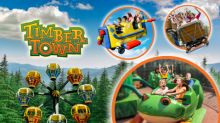 Frontier City Celebrates Grand Opening of Timber Town