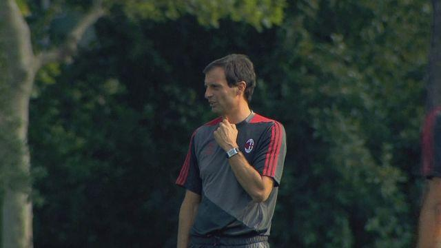 AC Milan sack head coach Massimiliano Allegri