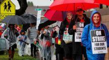 Talks resume as Los Angeles teachers' strike enters fourth day