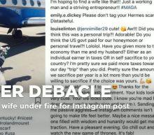 Louise Linton, wife of Treasury Secretary Mnuchin, apologizes for nasty Instagram spat