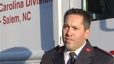 Salvation Army Officer Responds To Damage