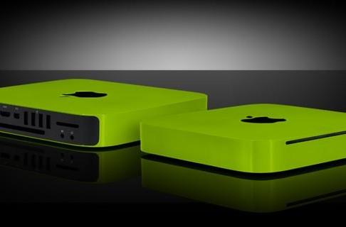 Mac Mini suffers chromatic maltreatment at hands of Colorware