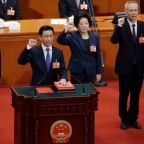 China forms new economic team as President Xi kicks off second term
