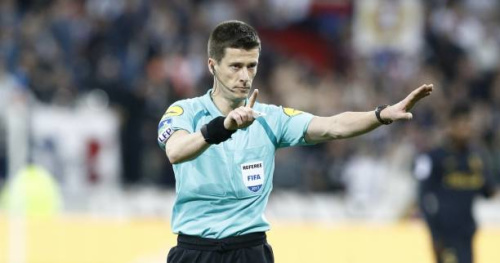 Foot - ChE U21 - Benoît Bastien arbitrera la finale du Championnat d'Europe des U21