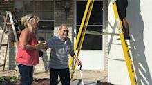 89-year-old blind man couldn't paint his home. Then Florida firefighters stepped in.
