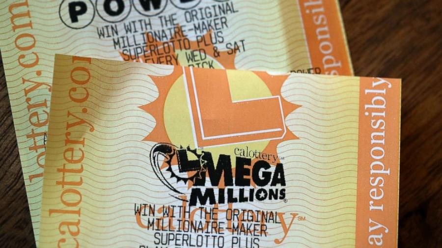 Mega Million numbers drawn for $1.6B jackpot