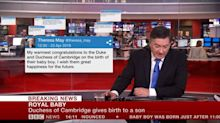 Royal Baby: Watch BBC Newsreader Simon McCoy's Underwhelmed Reaction To The News