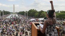 """57 ans après le """"rêve"""" de Martin Luther King, la lutte contre le racisme continue"""