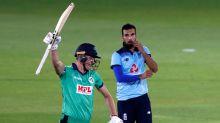 Ireland celebrate ODI win over England