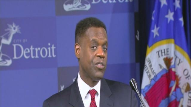 Kevyn Orr's first day on the job