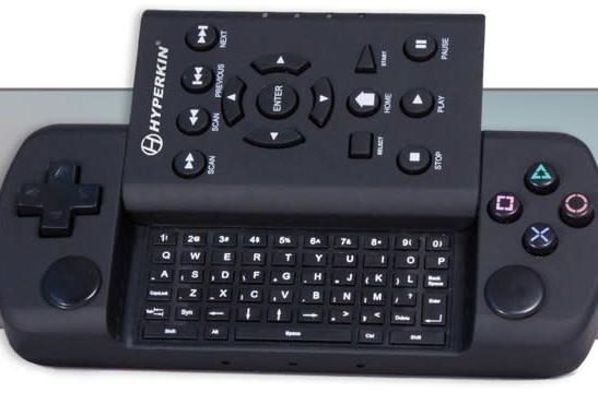Hyperkin's PS3 Remotext weds Blu-ray remote with keypad controller, DualShock 3 frets