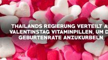 10 Fun Facts zum Valentinstag