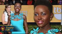 Lupita Nyong'o Emotional Speech at SAG Awards 2014