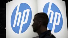 A firm bought assets from Hewlett Packard Enterprise. Its CEO has now quit and shares are tanking