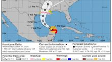 Hurricane watches issued for north Gulf Coast ahead of Hurricane Delta landfall