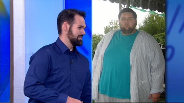 Weight-Loss Journeys: Man Sheds Almost 400 Pounds