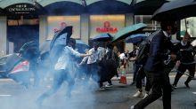 GLOBAL MARKETS-Stocks drop as Hong Kong violence rattles investors