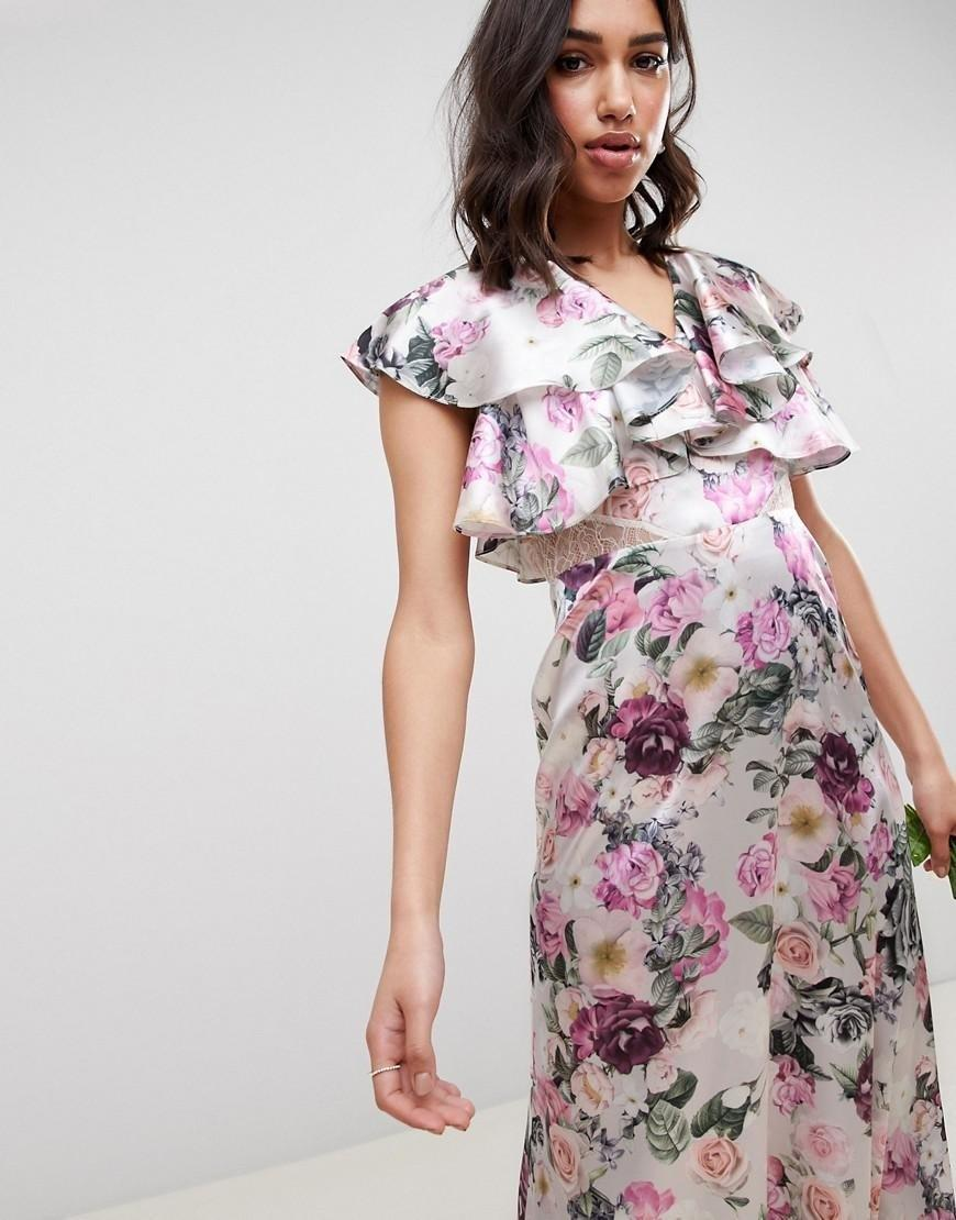 06f306a96 25 Floral Bridesmaid Dresses Perfect for a Spring Wedding