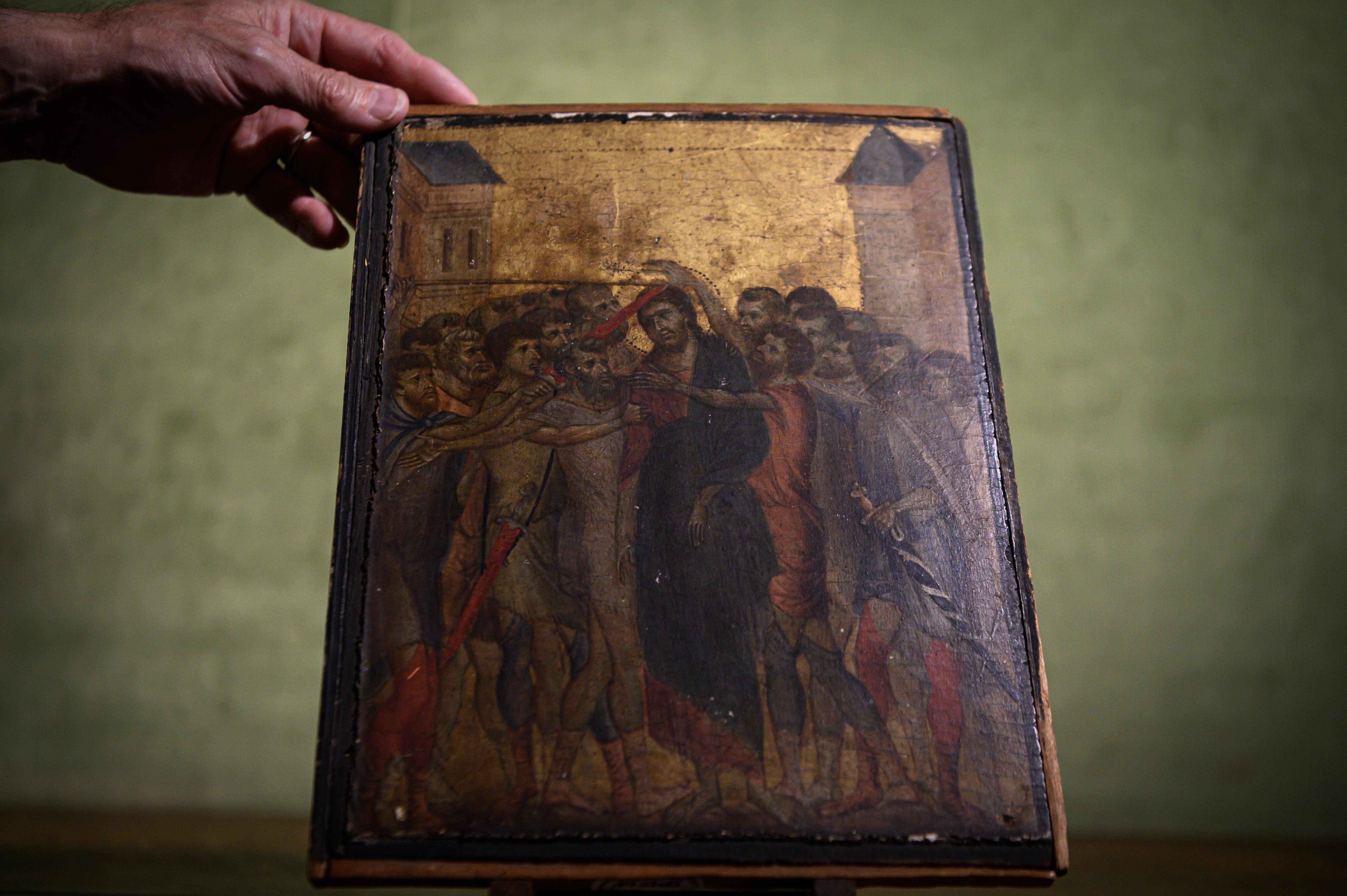 Renaissance masterpiece discovered hanging in old woman's kitchen