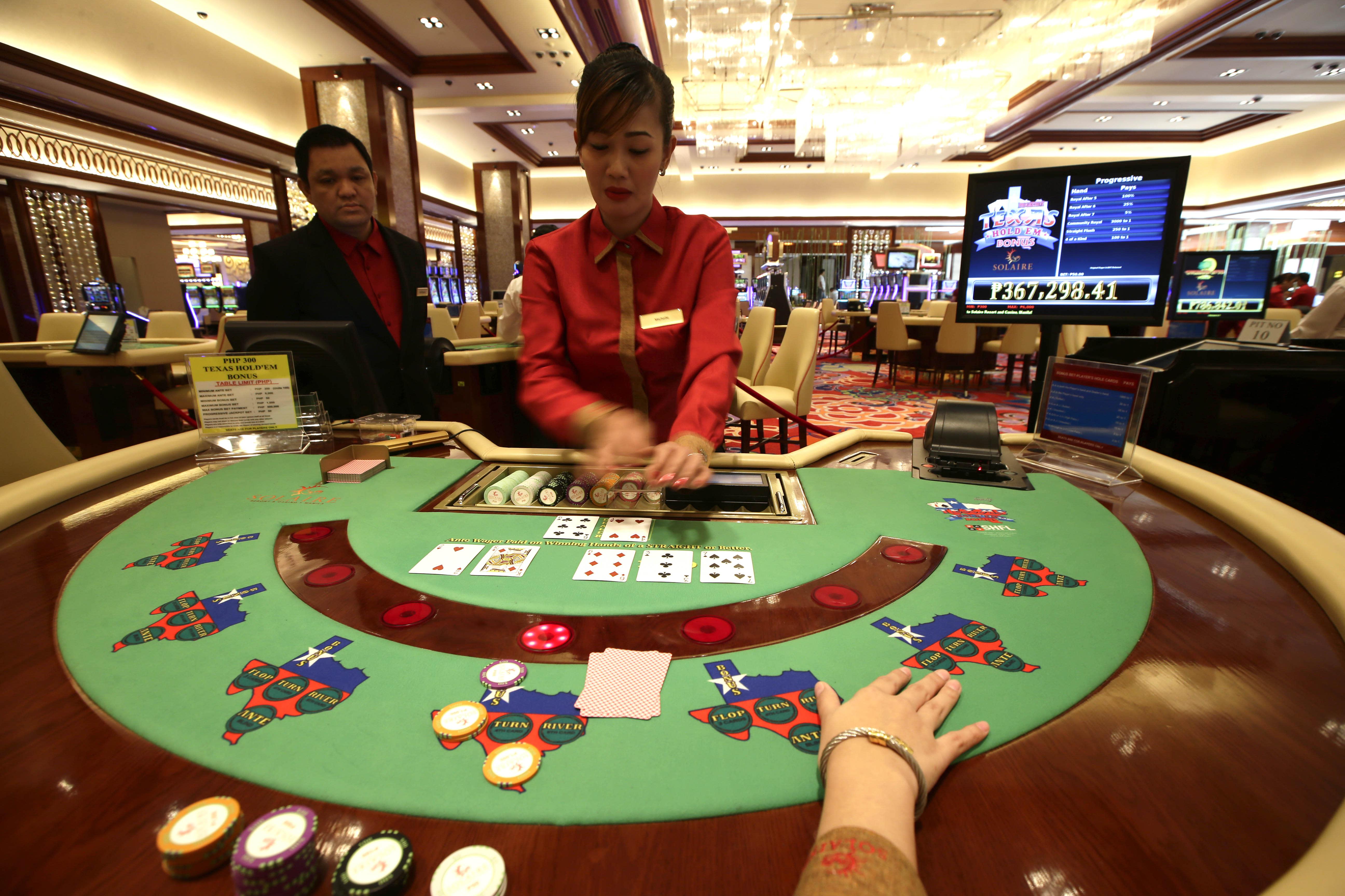 Philippines set to open $1 billion casino-resort