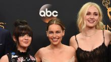 Game of Thrones ' Sophie Turner & Maisie Williams Call Emilia Clarke a 'Fighter' After Aneurysms