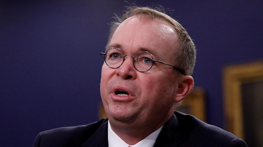 Trump taps Mulvaney as acting WH chief of staff