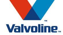 Valvoline Reports Third-Quarter Results