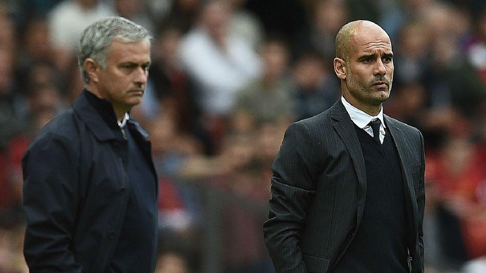 """Mourinho garante: """"Dérbi de Manchester não é sobre o encontro entre Guardiola e eu"""""""