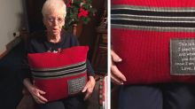 After Her Husband Died, This Grandma Received the Ultimate Christmas Gift