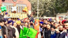 Maiden train to Amritsar flagged off, passengers say visiting Golden Temple mo more difficult