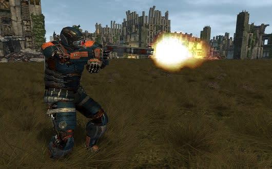 Fallen Earth posts its update on development in May