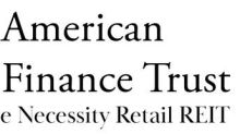 American Finance Trust Announces Common Stock Dividend for First Quarter 2021