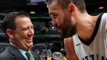 Marc Gasol fined $15K for dropping F-bomb on live TV after Grizzlies' first win in weeks