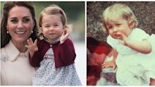 Princess Charlotte looks exactly like Princess Diana in these photos