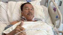 Schwarzenegger posta la foto dopo aver subito un operazione al cuore