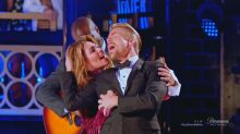 Shania Twain and Derek Hough get 'hitched' on 'Lip Sync Battle'