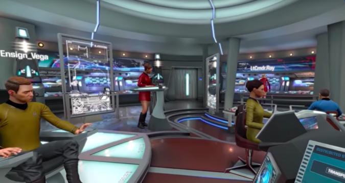 Star Trek: Bridge Crew jetzt auch ohne VR