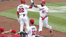 Nationals blank Giants in first game of doubleheader