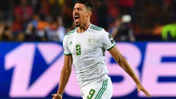 Sauveur de l'Algérie, Bounedjah a marqué plus de buts que Messi et Ronaldo