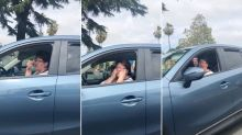 Woman launches racist attack on Asian driver