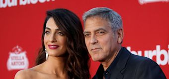 Clooney donates $500K to gun-control march