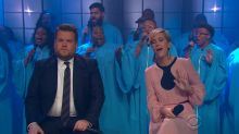 Kristen Wiig butchers classic song with James Corden