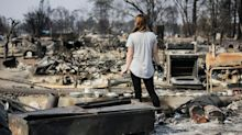 Death toll in California wildfires grows to 42, PG&E sued by couple who lost home