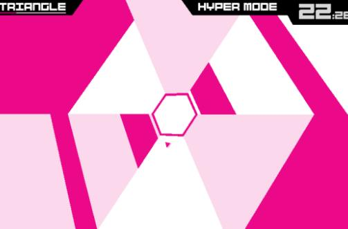 Super Hexagon brings concentric chiptune madness to BlackBerry 10
