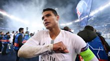 Thiago Silva hailed as 'one of the greatest ever' by PSG president as Chelsea move looms