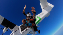 Will Smith Checks Skydiving Off His Bucket List in New Facebook Watch Series
