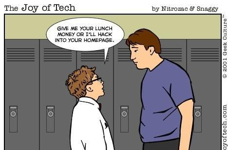 Shocker: Geeks more likely to be bullied