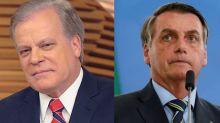 Chico Pinheiro comenta posts apagados de Bolsonaro: 'Falta bloquear os fanáticos'
